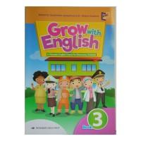 Buku Bahasa Inggris Erlangga GROW WITH ENGLISH untuk kelas 3 SD
