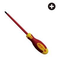 GRIP ON OBENG LISTRIK 6 MM X 4 INCH PLUS (+) ELECTRICAL SCREWDRIVER