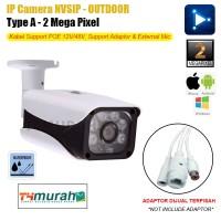 Jual IP Camera 2 MP Outdoor NVSIP ONVIF CCTV ID Dijamin Paling TOP IPC