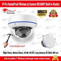 IP PRO Wireless IP CAMERA VandalProof HD1080P (Built-in Router)