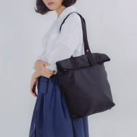 AME Raincoat - Convertible Bag Black