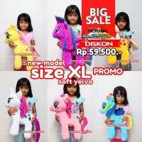 Boneka My Little Pony Big Size XL Soft Yelvo