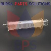 Spuit / Suntikan / Syringe Glass / Kaca / Beling for Solvent 50 ml