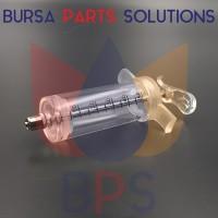 Spuit / Suntikan / Syringe Acrylic / Mika / Akrilik for Solvent 50 ml