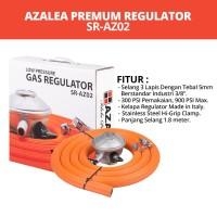 Regulator Gas LPG Kompor Oven Water Heater Azalea SR-AZ02 Low Pressure