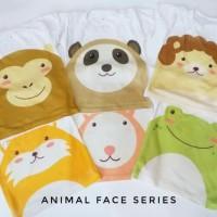 Kaos Anak Bayi Animal Face Series