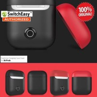 SwitchEasy Colors Charging Case Series AirPods Original - Black Red