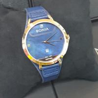 JAM TANGAN WANITA BONIA BNB10477-3586 SAPPHIRE ROSE GOLD BLUE ORIGINAL