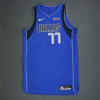 Jersey NBA Dallas Mavericks #77 Luca Doncic Original Authentic
