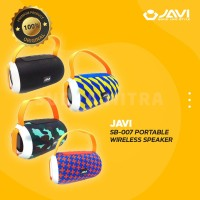 Speaker JAVI SB007 / SB 007 Bluetooth usb micro sd fm radio