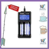 Xtar VC2 Premium Micro USB Battery Charger 2 Slot with LCD Display