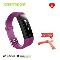 Createkat Smartwatch Pedometer Langkah Smart Band Katfit Classic
