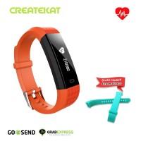 Createkat Smart Band Tahan Air Smartwatch Pemantau ˈTidur