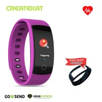 Createkat Smart Band Melacak Aktivitas Anda Sepanjang Hari Smartwatch