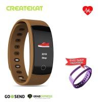 Createkat Smart Band Konsumsi Daya Ultra Rendah Smartwatch Katfit 1