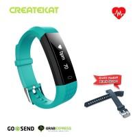 Createkat Smart Band Monitor Tidur Smartwatch ˈKatfit Classic