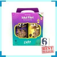 Deka Wafer Roll Kaleng isi 2 / kue parsel / paket / pack gift lebaran