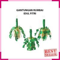 Dekorasi Lebaran Gantungan Rumbai Ornament Hiasan Idul Fitri Murah