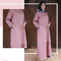 Busana muslim baju muslim zelyn dress