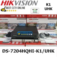 Hikvision DVR DS-7204HQHI-K1 /UHK 4 Channel DS-7204HQHI 7204HQHI