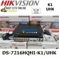 Hikvision DVR DS-7216HQHI-K1 /UHK 16 Channel DS-7216HQHI 7216HQHI