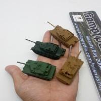 Miniatur model tank US M1 Abrams & Chinese Type 99 skala N 1/144 HG/RG