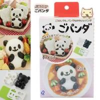 Cetakan Bento Nasi Roti Tawar Kue Sandwich Panda Bear Rice Bread Mold