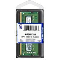 Kingston Memory RAM DDR4 4GB Sodimm / Sodim For Laptop
