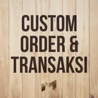 Custom Order & Transaksi Produk (Special Order)