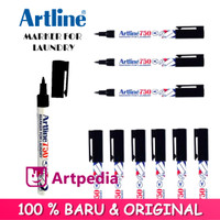 Artline Marker 0.7mm EK-750 / Spidol Artline Marker For Laundry
