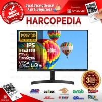 Monitor LED LG 24 Inch 24MK600 / 24MK600M-B HDMI VGA