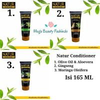 Natur Hair Conditioner Gingseng - Olive Oil - Moringa 165ML