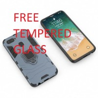 CASE REALME 2 PRO/OPPO F9 CASING ARMOR COVER WITH IRING KICKSTAND