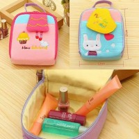 Tas kosmetik / hand made cotton cosmetics bag ukuran M