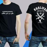 Tshirt/kaos KHALIFAH ALI bin ABI THALIB RA