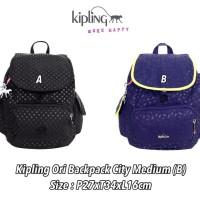 Tas Kipling Ori Backpack City Medium / tas ransel kipling original