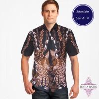 Kemeja Batik Pria Seragam Merak Kembar