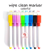 Zoetoys Wipe Clean Marker - Colorful | mainan edukasi | mainan anak