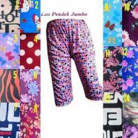 Celana pendek motif size jumbo - celana santai murah
