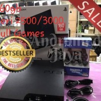 SONY PS3 PS 3 Playstation 3 Slim OFW 160 GB Full Game