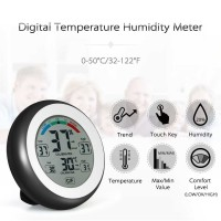 Digital Thermometer Hygrometer Min Max Value - CJ-3305F baru