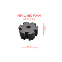 refill busa bio foam medium filter aquarium aquascape