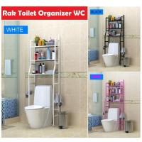 X90 Rak Toilet Organizer WC Tissue sabun Kloset Kamar Mandi 165x50x26