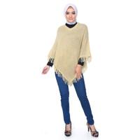 PONCO SALAK Okechuku Knit Outer Rajut Sweater Fashion Wanita Kekinian