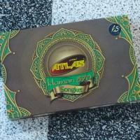 Sarung Atlas Idaman 570 Songket motif BHS