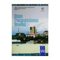 Buku IPS kelas 8 SMP Kurikulum 2013 edisi revisi 2017