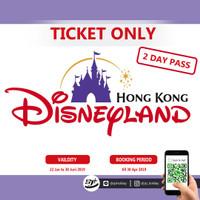 Voucher Disneyland Hongkong - 2 Day Pass