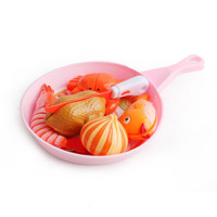Mainan masak buah sayur potong / playing kitchen cooking ( Seafood )