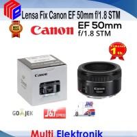 Lensa Fix Canon EF 50mm f/1.8 STM Promo