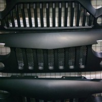 Angry Bird Grille | Grill Jeep JK Wrangler Rubicon Custom Import